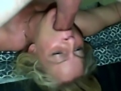 Kinky blonde crazy for cocks does professional blowjob