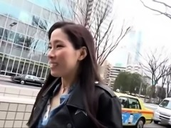 Charming Asian girl with perfect tits enjoys hardcore action