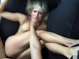 Horny blonde wife crystal fucked hardcore in pov