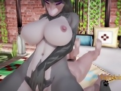 Furry Hentai 3D - Wolfboy & Mouse Hard Sex.