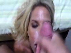 Slutty amateur blondes pov blowjob and sucking like a pro