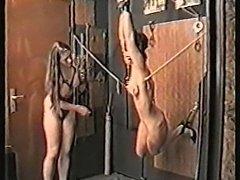 FemDom - Flogging, canning, tit torture, needles