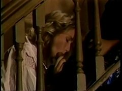 Candie Evans upstairs