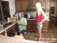 Blonde Milf Bangs Two Hung Workers free