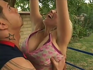 Johnny hits his hot blonde