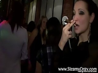 Dirty girls at cfnm amateur party free