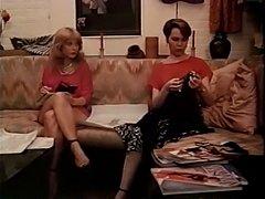 Paula Meadows and Nina Hartley