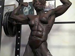 Chiseled Ebony Muscle