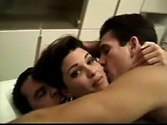 HOT MILF Is Caught Fucking 2 Guys