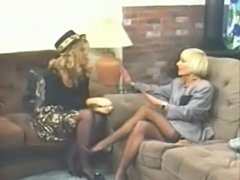 Being relaxed during a porn shoot. (Classic - Vintage)