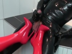 rubber action