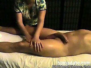 Slow Handjob, Balls Massage
