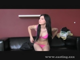 Casting - Tiny pale brunette si ... free