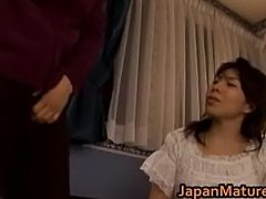 Mature Japanese chick gets fingered part3