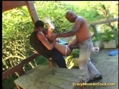 Crazy monster cock hard fuck free