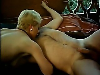 Aunt rebuked her boy and then sucked his cock 3