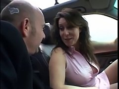 Awesome porn in car