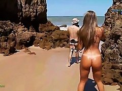 Funny report on brasilian nudist beach