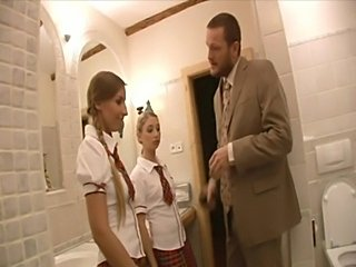 Naughty School Girls free