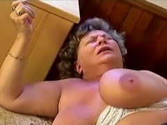 Busty grannies fucking younger men