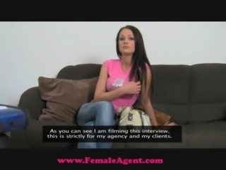 FemaleAgent Gorgeous and naive free
