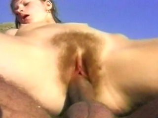 Damn hot MILF gets the fucking of the life in the sea and enjoys every second...