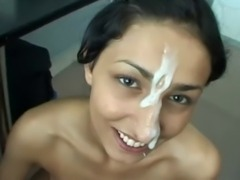 Turkish girl cumshot