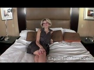 Mature Amateur in Interracial Video