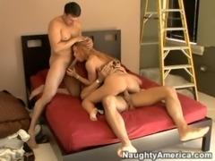 Janet Mason fucks her 2 neighbo ... free
