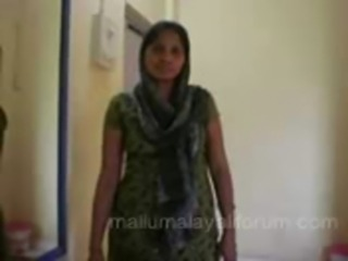 housewife in salwar removing an ... free