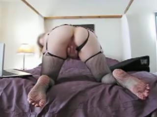 divorced Mom and secretary. My self taped home movie. Fucking my self with a purple dildo and with my fingers.  Using creme on my dildo. I love it deep.  After my orgasm, I expose my ass and pussy.
