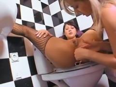 Kinky Anal Fun In Bathroom www. ... free
