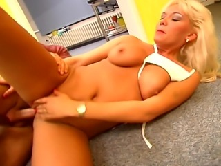 Horny damn hot girl getting hardcore drilled and squeezed by her steamy big...
