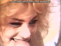 Blonde fuck pro makes guy explode