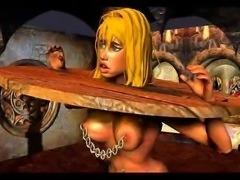 classic huge breast bdsm art