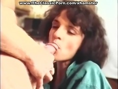 Brunette swinging on hard dick