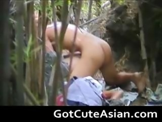 Fuck in the forest 3 by GotCuteAsian part6
