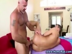 Nasty straight hunk turns for bear