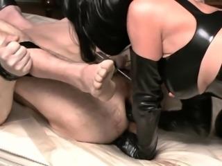 German Mistress fuck her Slave