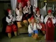 Snow White Loves The 7 Midgets  midget dwarf cumshots swallow
