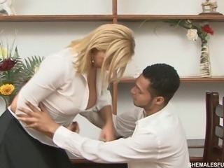 Hot office bonking