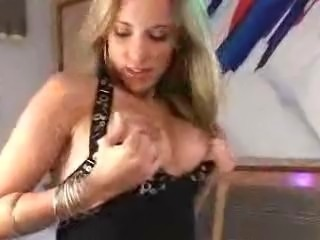 Beautiful Brazilian Gisele takes it hard in the ass.