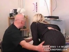 Amateur blonde banged in his ho ... free