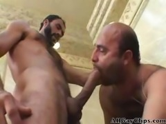 Bear Taking Hard CockK Deep Inside  gay porn gays gay cumshots swallow stud...