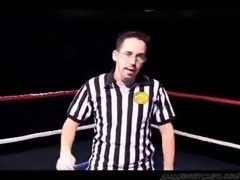 Huge Boob Bbw Wrestles A Midget Girl Then Fucks Her midget dwarf cumshots...