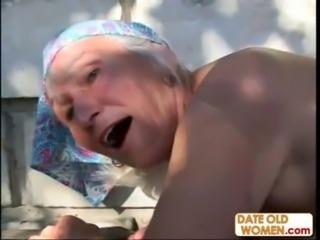 Ugly Hairy Granny Fucks free