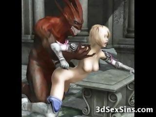 Мультики, аниме, демон, хентай, Виртуальное порно.