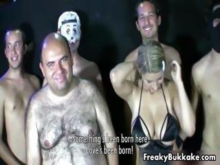 Busty Spanish blonde slut loves getting part2