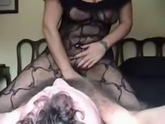 Hot Long-nails Mature Smoking and Dominating