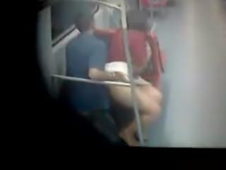 Spy camera in the subway in Brazil free